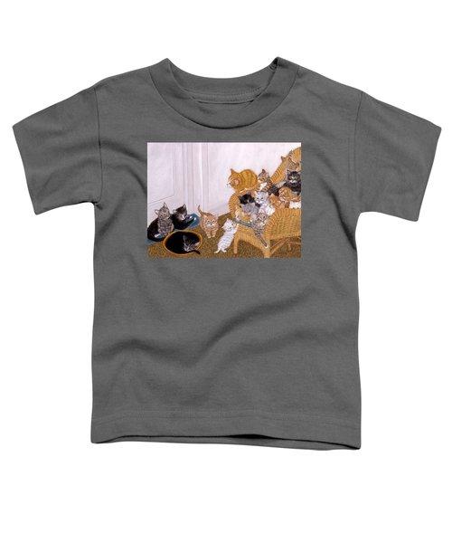 Kitty Litter II Toddler T-Shirt