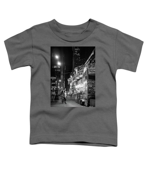 Knish, New York City  -17831-17832-bw Toddler T-Shirt