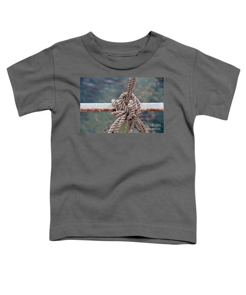 Toddler T-Shirt featuring the photograph Knot Of My Warf by Stephen Mitchell