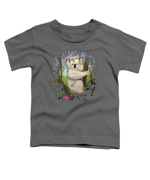 Koala Toddler T-Shirt by Adam Santana