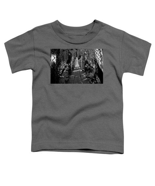 Kootenai Falls Bridge Toddler T-Shirt