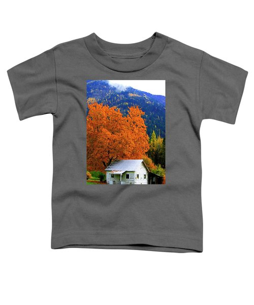 Kootenay Autumn Shed Toddler T-Shirt