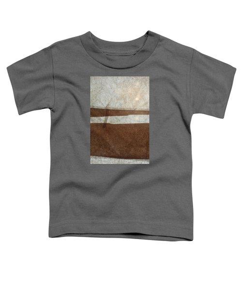 Kraft Paper And Screen Seascape Toddler T-Shirt