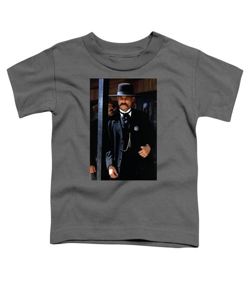 Kurt Russell As Wyatt Earp Tombstone Arizona 1993-2015 Toddler T-Shirt