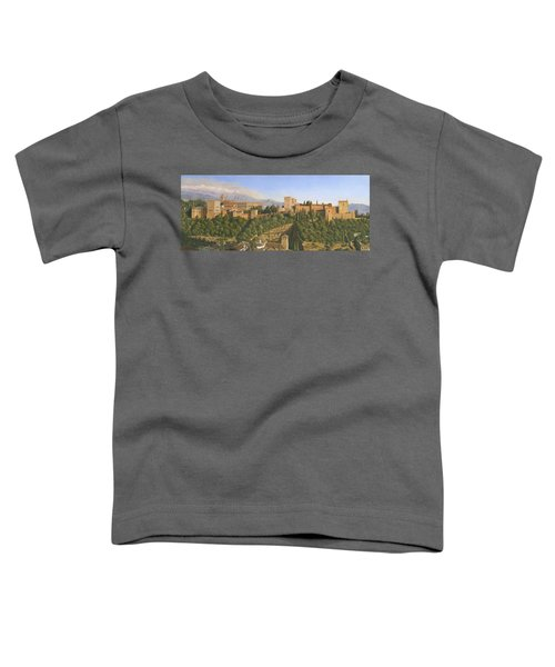 La Alhambra Granada Spain Toddler T-Shirt