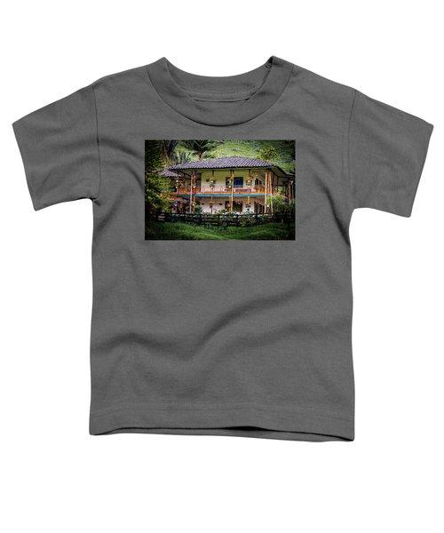 La Finca De Cafe - The Coffee Farm Toddler T-Shirt