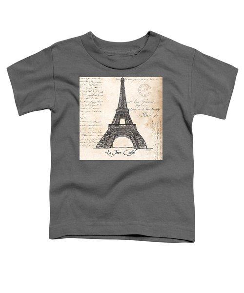 La Tour Eiffel Toddler T-Shirt