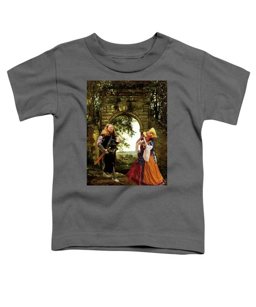 Lady At The Gate Toddler T-Shirt
