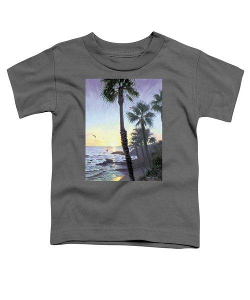 Laguna Sunset Toddler T-Shirt