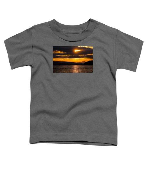 Lake Champlain Sunset Toddler T-Shirt