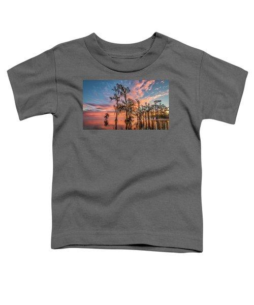Lake Maurepas On Fire Toddler T-Shirt