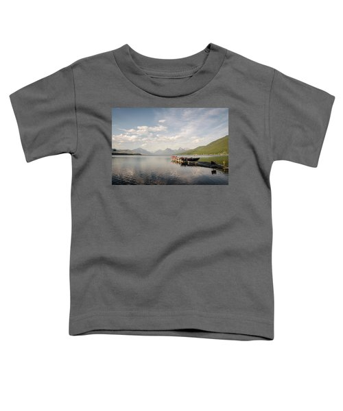 Lake Mcdonald Toddler T-Shirt