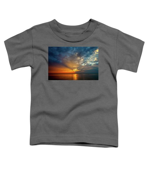 Lake Michigan Sunset Toddler T-Shirt