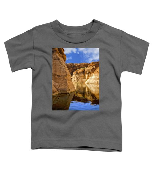 Lake Powell Stillness Toddler T-Shirt