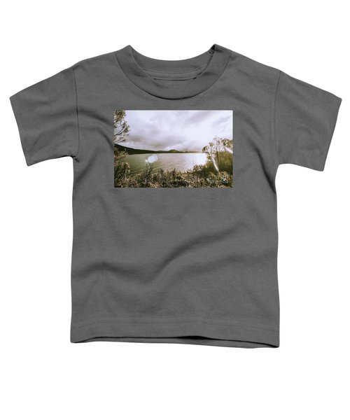 Lakes In Sunset Toddler T-Shirt