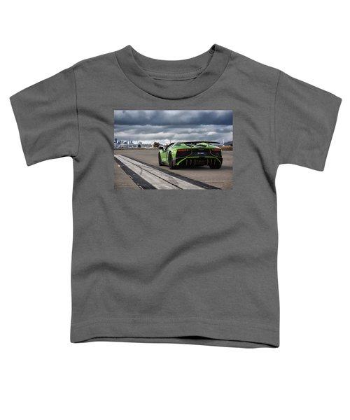 #lamborghini #aventadorsv #superveloce #roadster Toddler T-Shirt