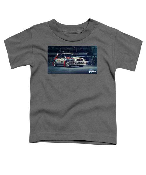 Lancia Delta Intergrale Toddler T-Shirt