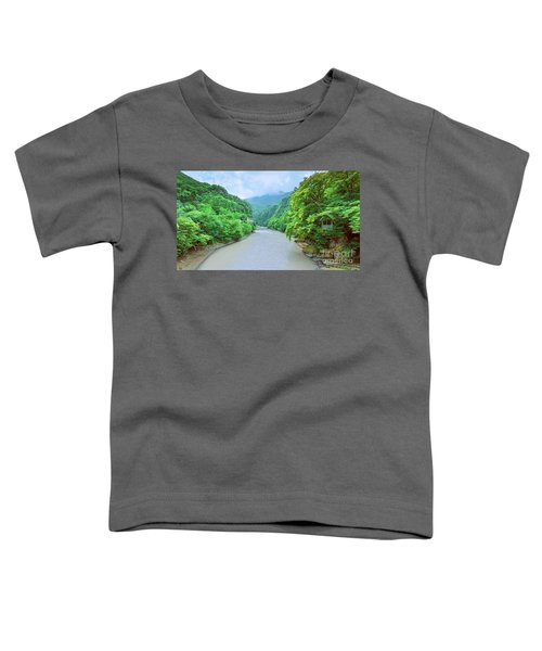 Landscape View From A Bridge Toddler T-Shirt
