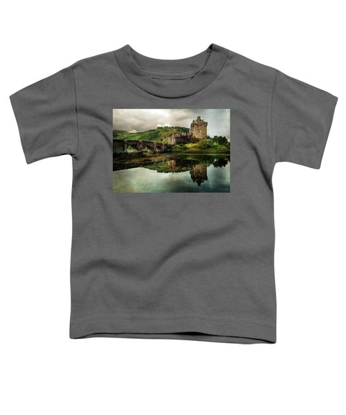 Toddler T-Shirt featuring the photograph Landscape With An Old Castle by Jaroslaw Blaminsky