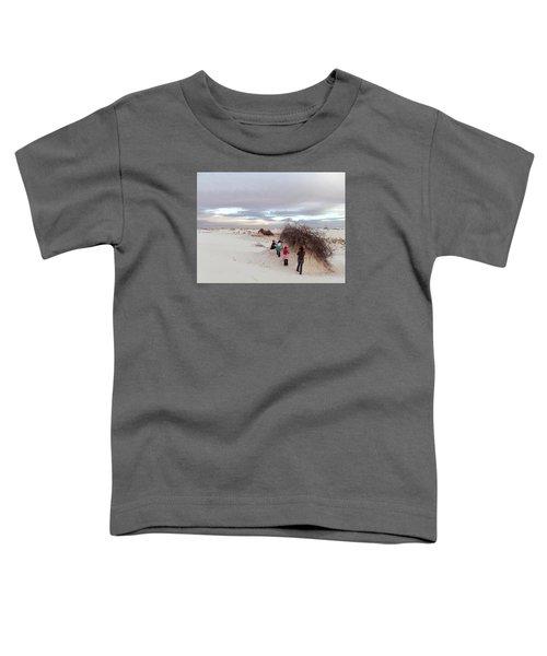 Exploring The Dunes Toddler T-Shirt