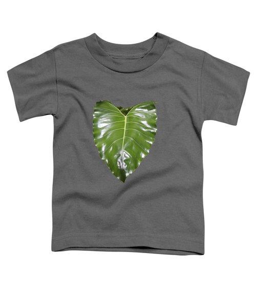 Large Leaf Transparency Toddler T-Shirt