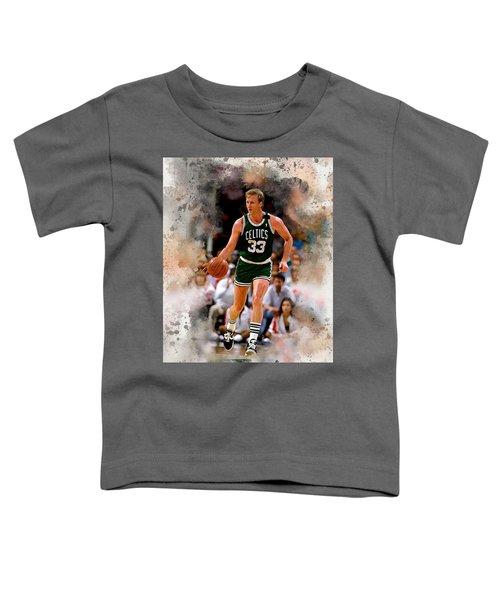 Larry Bird Toddler T-Shirt