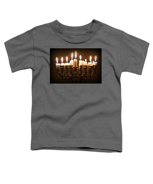 Last Night Of Chanukah Toddler T-Shirt