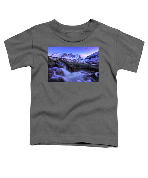 Last Rays On Andromeda Toddler T-Shirt