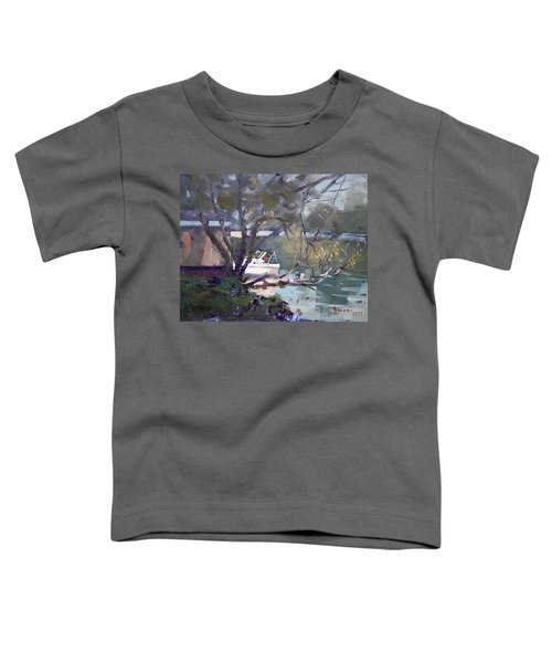 Last Sun Touches By Tonawanda Canal Toddler T-Shirt