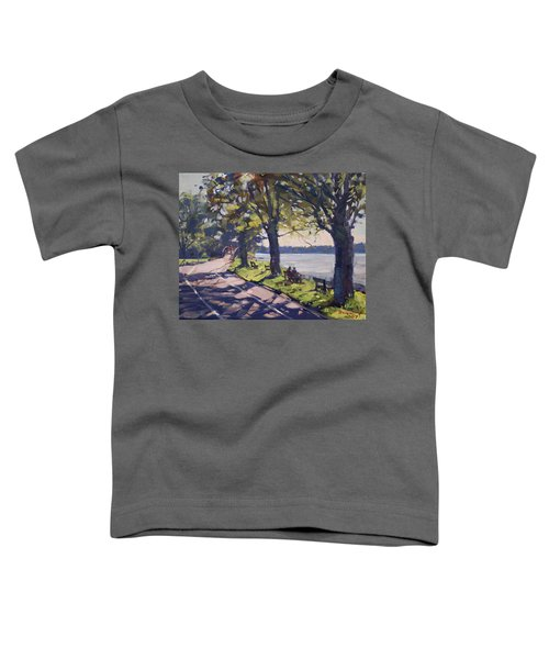 Late Afternoon At Niawanda Park Toddler T-Shirt