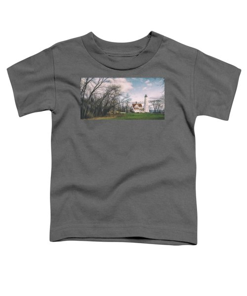 Late Afternoon At The Lighthouse Toddler T-Shirt
