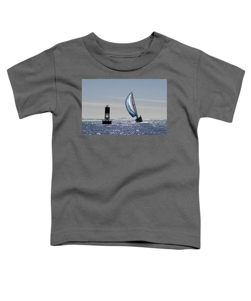 Late Afternoon Sail Toddler T-Shirt