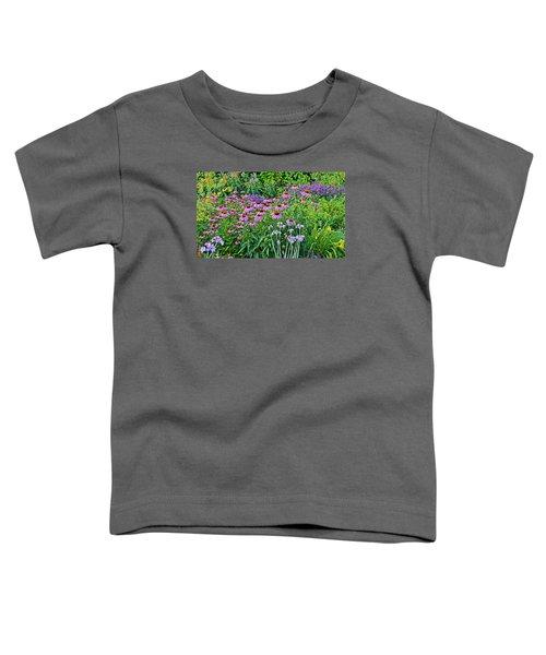 Late July Garden 2 Toddler T-Shirt