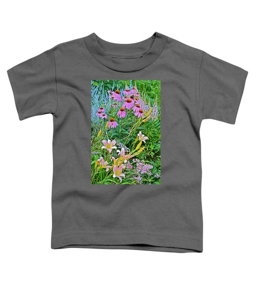 Late July Garden 3 Toddler T-Shirt