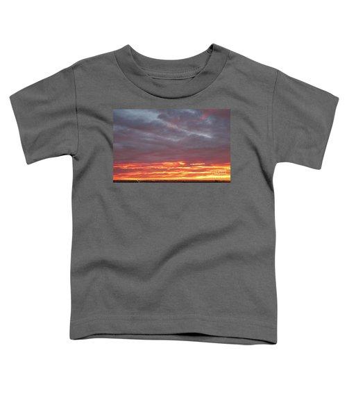 Late Prairie Sunrise Toddler T-Shirt