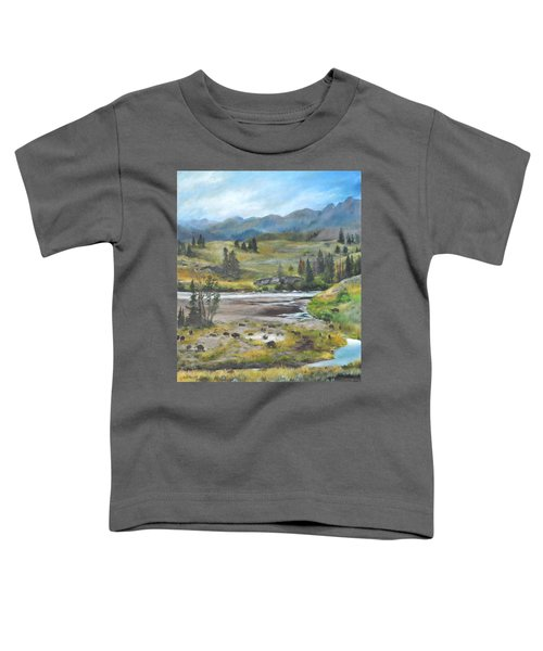 Late Summer In Yellowstone Toddler T-Shirt