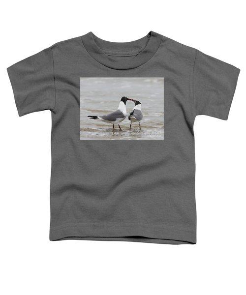 Laughing Gulls In Love Toddler T-Shirt