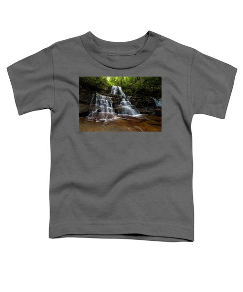 Laurel Falls Great Smoky Mountains Tennessee Toddler T-Shirt