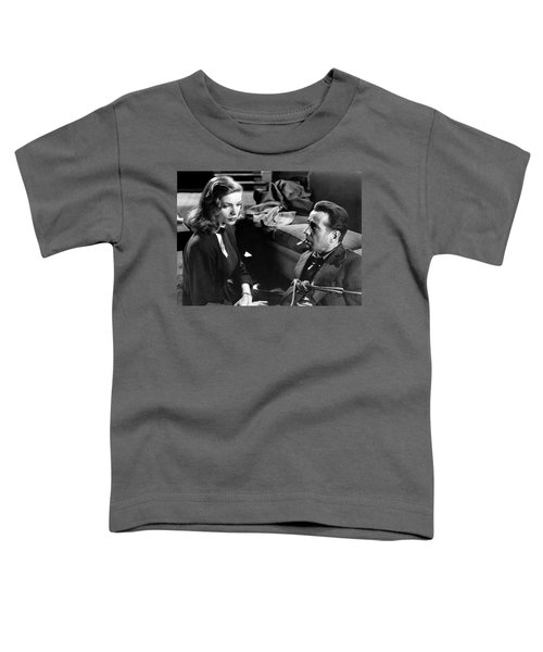 Lauren Bacall Humphrey Bogart Film Noir Classic The Big Sleep 1 1945-2015 Toddler T-Shirt