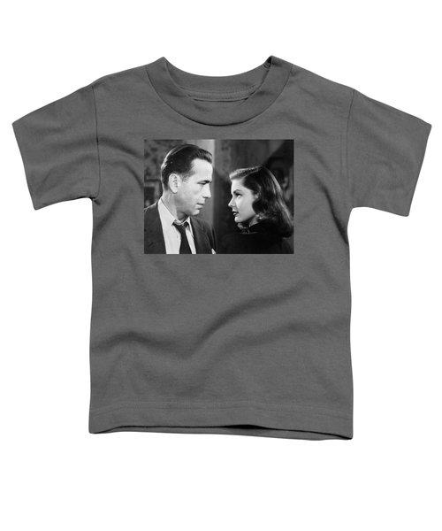 Lauren Bacall Humphrey Bogart Film Noir Classic The Big Sleep 2 1945-2015 Toddler T-Shirt