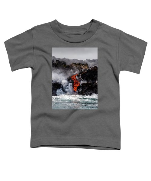 Lava Snake Toddler T-Shirt