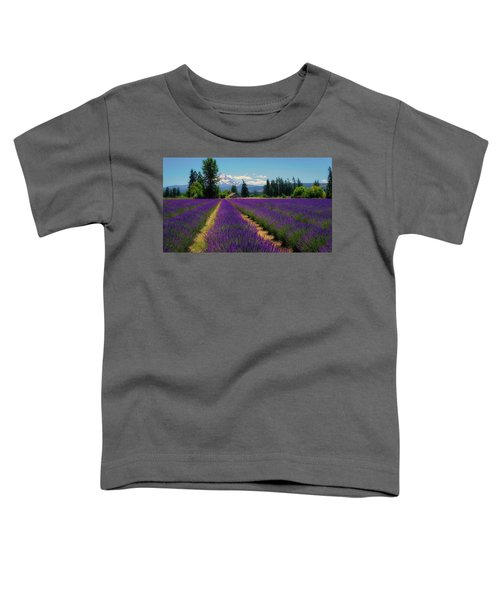 Lavender Valley Farm Toddler T-Shirt