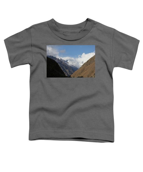 Layers Of Mountains Toddler T-Shirt