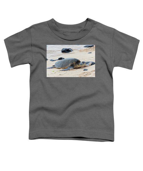 Lazy Day At The Beach Toddler T-Shirt