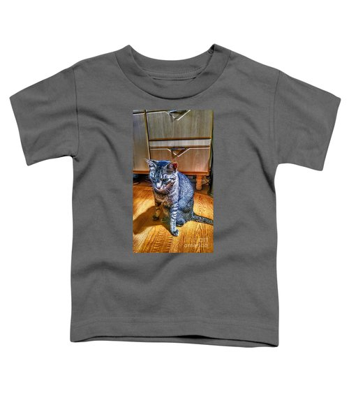 Le Chat Gris Toddler T-Shirt