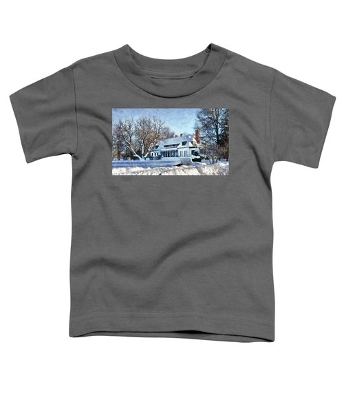 Leacock Museum In Winter Toddler T-Shirt
