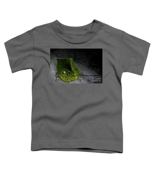 Leaf Droplets Toddler T-Shirt