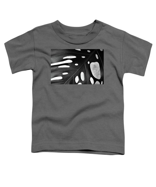 Leaf With Holes Toddler T-Shirt
