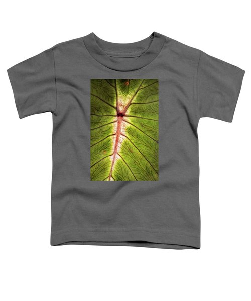 Leaf With Veins Toddler T-Shirt