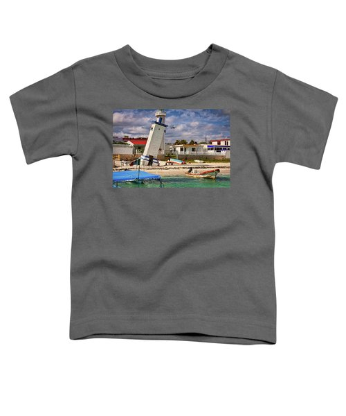 Leaning Lighthouse Toddler T-Shirt